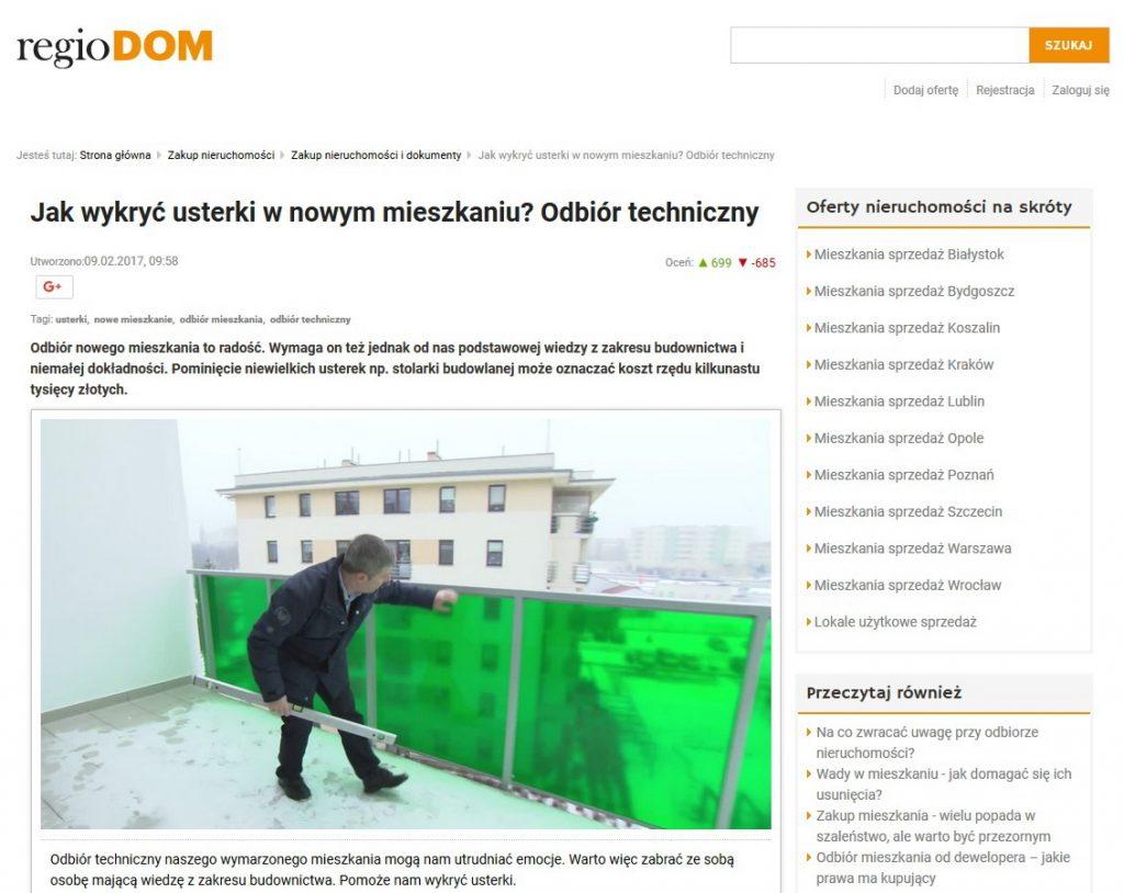 regioDOM artykuł