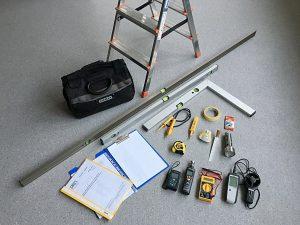 narzędzia do odbioru technicznego mieszkania